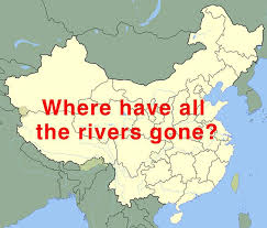 rivers in china map 28 000 rivers go missing in china s lastest waterway survey