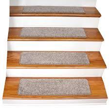 tape free non slip carpet stair treads set of 15 contemporary