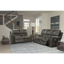 Parker Sofa Living Belize Dual Power Reclining Sofa With Usb U0026 Power Headrest