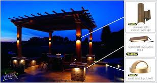 Volt Led Landscape Lighting 120 Volt Led Landscape Lights Nomadik Co
