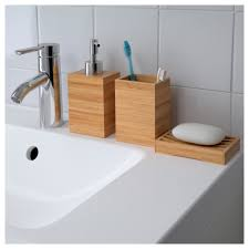 Bamboo Bathroom Accessories by Dragan Soap Dish Ikea