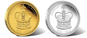 2012 australian jubilee kilo gold and silver coins