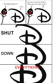 Star Wars Disney Meme - disney star wars shut down everything meme by nightassassin480 on