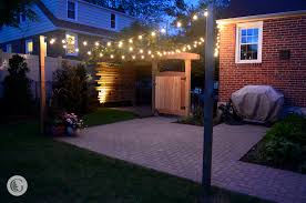 delaware county backyard at day and night greenroots landscaping
