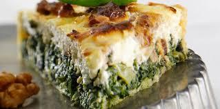 cuisiner epinard quiche aux épinards facile et pas cher recette sur cuisine actuelle