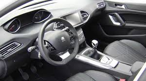 peugeot interior the new peugeot 308 interior review automototv youtube