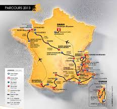 Annecy France Map by 2013 Tour De France Route Announced 100th Edition Gets Double