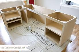 Diy Mdf Desk Diy Office Desk At Home And Interior Design Ideas