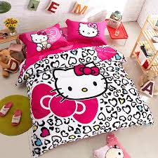 Hello Kitty Duvet Love Bowtie Hello Kitty Queen Size Duvet Cover Cotton Bedding Kids