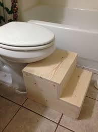 Bathroom Stool Wood Ana White Toilet Step Stool Diy Projects