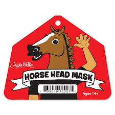 halloween city adrian mi amazon com accoutrements horse head mask toys u0026 games
