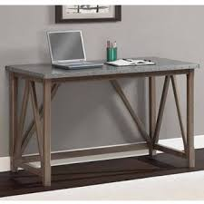 Computer Desk 30 Wide Zinc Top Bridge Desk 30 Inches High X 49 Inches Wide X 22 Inches