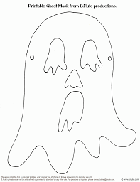 photos ghost mask template printable ghost halloween