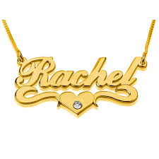 gold necklace name images 24k gold plated silver name necklace in english with swarovski jpg