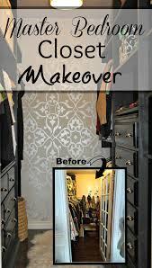 Wallpaper Closet Master Bedroom Closet Makeover A Purdy Little House