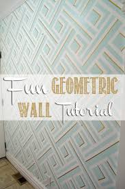 Harlequin Home Decor How To Paint A Diamond Pattern On Your Wall Maison Dor Interior