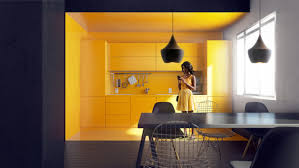 Yellow Black Room 22 Yellow Accent Kitchens That Really Shine