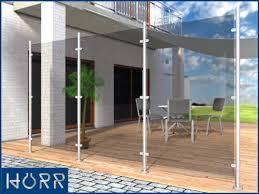 glas f r balkon details zu edelstahl windschutz sichtschutz terrasse balkon f glas