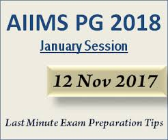 paper pattern of aiims aiims pg 2018 exam date pattern last minute preparation tips