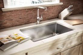 Undermount Kitchen Sink Reviews Kitchen Magnificent Undermount Stainless Steel Kitchen Sinks