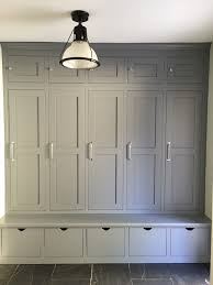 entryway built in cabinets showing off melinda mud rooms gray and room