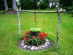 15 small handmade yard decorations for creative garden design