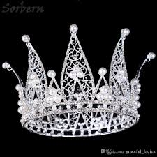 handmade tiaras pageant crown tiaras hair accessories princess royal crown