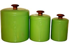 kitchen canister set ceramic canisters amusing lime green kitchen canister sets green canister