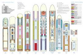 Cruise Ship Floor Plans by Pacific Dawn Deck Plan