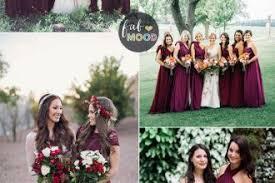 burgundy bridesmaid dresses bridesmaids dresses fab mood wedding colours wedding themes