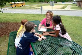 Picnic Benches For Schools Metal Picnic Tables With Thermoplastic Coating Are Smart Choice