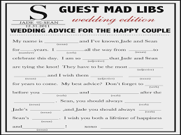 wedding mad lib template 100 wedding mad libs free template madlibs etsy 69 best