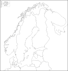Blank Maps Of Europe To Print by Scandinavia Free Map Free Blank Map Free Outline Map Free Base