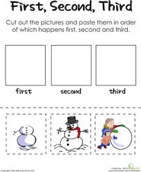 10 winter math worksheets education com