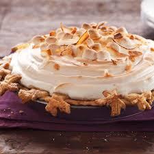 sweet potato coconut pie with marshmallow meringue recipe taste