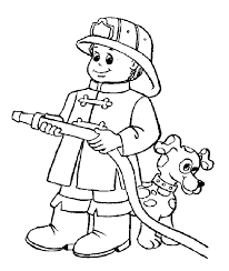firefighter coloring pages firefighter coloring pages