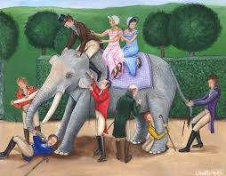 Blind Man And Elephant The Blind Men And The Elephant By Rjdaae On Deviantart