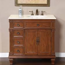 60 Single Bathroom Vanity Stanton 60 Single Sink Bathroom Vanity Set Solid Oak At Single