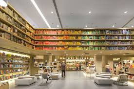Bookstore Library Interior Design Retail Ideas - Library interior design ideas