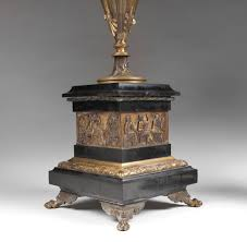 pair of french aesthetic movement bronze u0026 marble candelabras