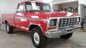 ford truck red 1978 ford f 150 4x4 maxlider brothers customs