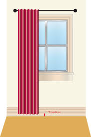 Standard Window Curtain Lengths How To Measure For Curtains Sew4home
