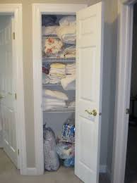 deep linen closet organization home design ideas