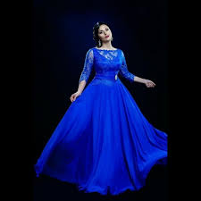 aliexpress com buy plus size royal blue prom gowns special