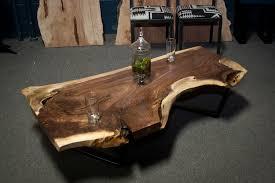 live edge walnut coffee table coffee tables live edge wood coffee tables and furniture serving