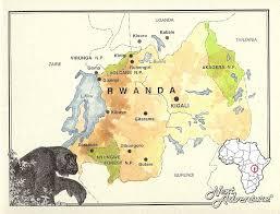 Rwanda World Map by Rwanda Next Adventure