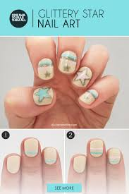 glitter star nail art for out of this world digits more com