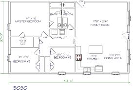 Floor Plans Texas Barndominiums 16 X 50 Floor Plans