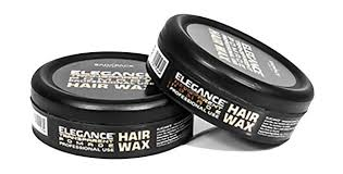 Pomade Wax elegance transparent pomade hair styling wax strong hold 150ml 5oz