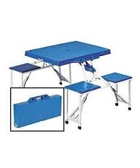 exuberance foldable picnic table and chairs 18 for you lovely